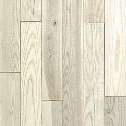 3/4 x 5 Matte Carriage House White Ash Solid Hardwood Flooring